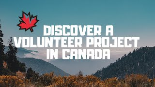 Volunteer projects in Canada