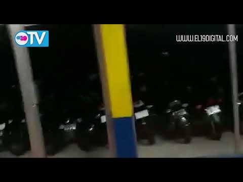 Estragos del vandalismo en León y Masaya