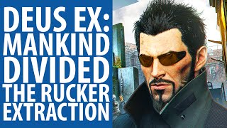 Deus Ex: Mankind Divided - The Rucker Extraction mission