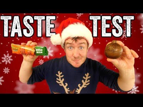Festive Supermarket Haul Taste Test