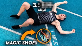 WORLD'S FIRST Sub-4 Minute Mile in Nike ZoomX Vaporfly Next%