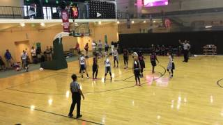 2016 AAU 8th Grade Nat'l Super Showcase: Vogues v Georgia Team Elite - Championship Game 1st OT