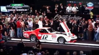 1968 Corvette L-88 #12 Owens/Corning FIA/SCCA Racecar Sold To Rick Hendrick At Barrett-Jackson