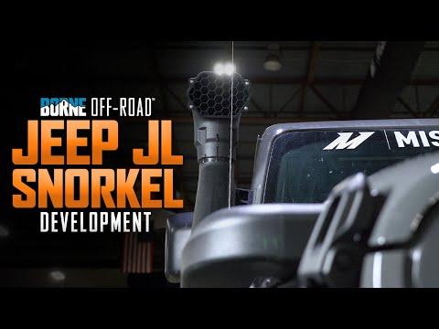 Mishimoto: Borne Off-Road 2018+ Jeep JL Snorkel Development