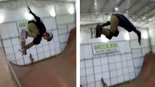 video: Brazilian 11-year-old Gui Khury becomes first skateboarder to land 1080 on vertical ramp