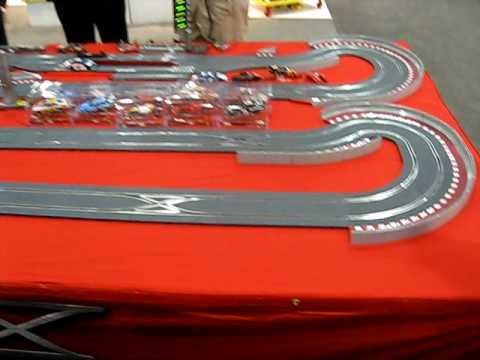 SCX Digital Slot Car Track at the New York Toy Show 2009
