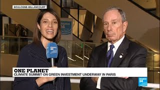 """Michael Bloomberg on climate change: """"If Trump doesn"""