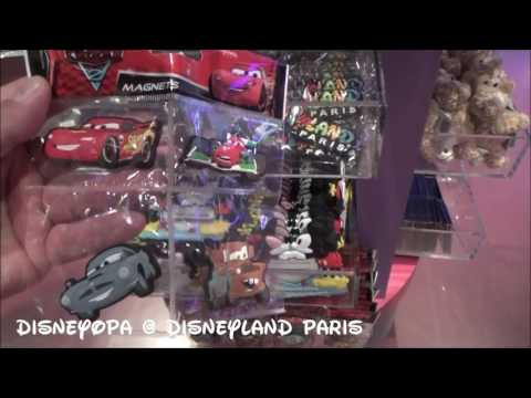 Disneyland Paris Merchandise Magneten Shop walkthrough 2017 DisneyOpa