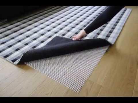 Wie verhindere ich, dass der Teppich rutscht?