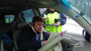 ДПС Егорьевское шоссе Инспектор стебется над законодательством