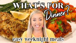WHATS FOR DINNER | EASY WEEKNIGHT MEALS | COOK #WITHME | JESSICA ODONOHUE
