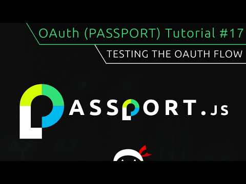 Liked on YouTube: OAuth (Passport.js) Tutorial #17 – Quick Auth Test