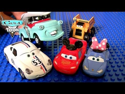 17 Disney Cars Herbie 53 McQueen | Minnie Sally | Colossus