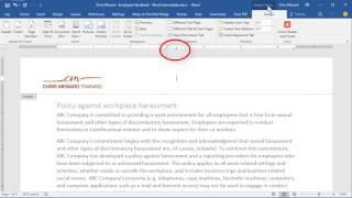 Show Heading 1 styles in your header in Word by Chris Menard