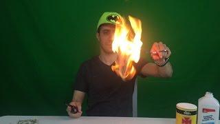 Burning Money 100 Dollar Bills Experiment ~ Incredible Science