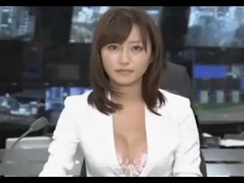 【観覧注意】女子アナのお宝ハプニングによる放送事故が発生【神回】