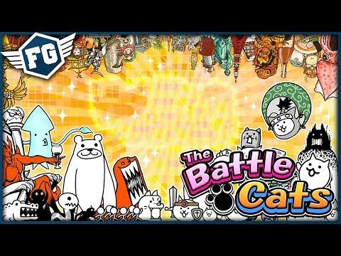 SLENDER KOČKA - The Battle Cats