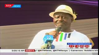 MP goes to court to compel NASA's Raila Odinga to take part in the repeat presidential election