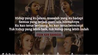 D'masiv - Esok Kan Bahagia (feat. Ariel, Giring, Momo) [ Lirik ]