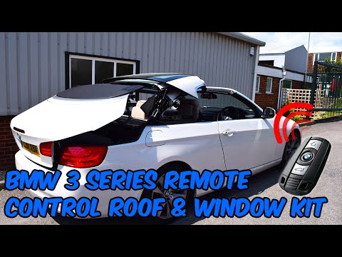 BMW 3 Series E93 Convertible Remote Roof Open & Close Kit