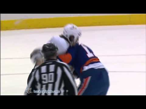George Parros vs Matt Martin