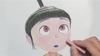Despicable Me Drawing - Agnes