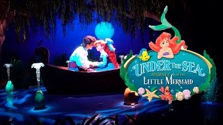 Under The Sea - Journey of the Little Mermaid Ride Disney World 4K Video
