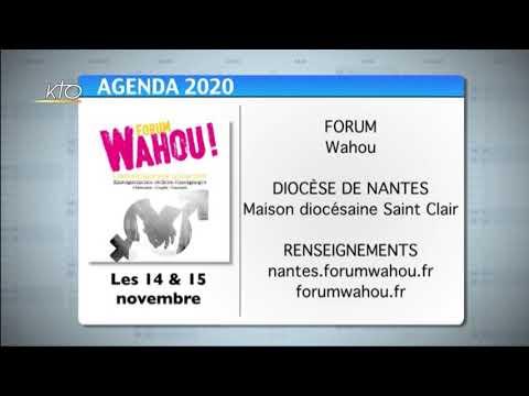 Agenda du 30 octobre 2020