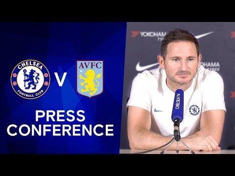 Frank Lampard on John Terry's Stamford Bridge Return & Tammy Abraham Injury | Chelsea v Aston Villa
