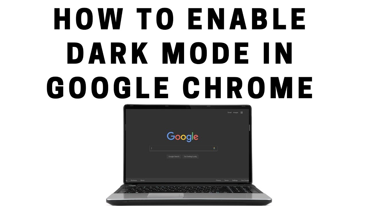 how to activate dark navigation in Google Chrome