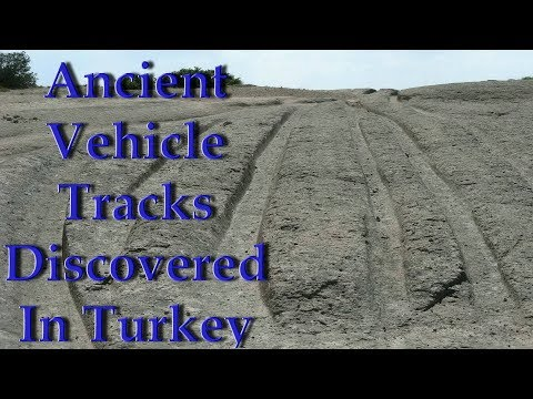 "Alexander Koltypin ""Ancient Vehicle Tracks Discovered In Turkey's Phrygia Valley"""