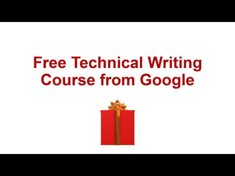 Free Technical Writing Course from Google, Introduction and review of top Technical Writing Course