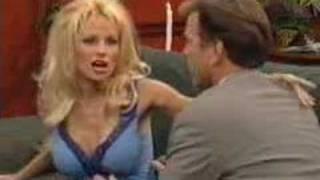 Passage de Pamela Anderson dans Une nounou d'enfer