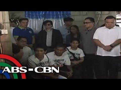TV Patrol: 'Bahay ipagagawa, palayan tutubusin,' pangako ni Duterte sa pamilya Demafelis