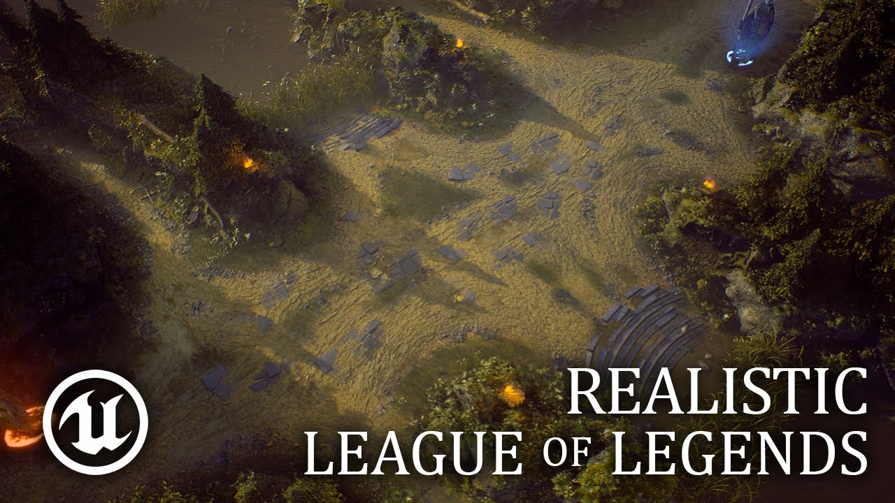League Of Legends Looks Absolutely Stunning In Unreal Engine 4