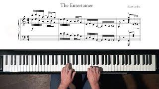 "Scott Joplin ""The Entertainer"" Paul Barton, FEURICH HP Piano"
