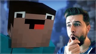 REACTING TO BLOCKING DEAD MINECRAFT MOVIE!! Minecraft Animations!