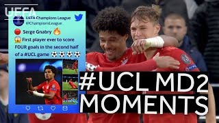 GNABRY. SUÁREZ, CLUB BRUGGE: #UCL Matchday 2 Moments