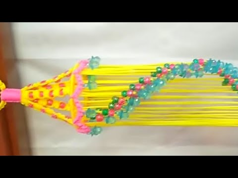 Easy macrame jhumar for bignners
