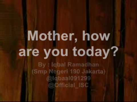 Mother How Are You Today Lyric With Lyric Maywood Mp3