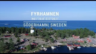 Safe approach to Fyrhamnen port in Söderhamn, Sweden