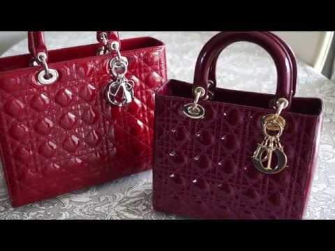 How to Spot a Fake Lady Dior Handbag Review My Christian Dior Bag