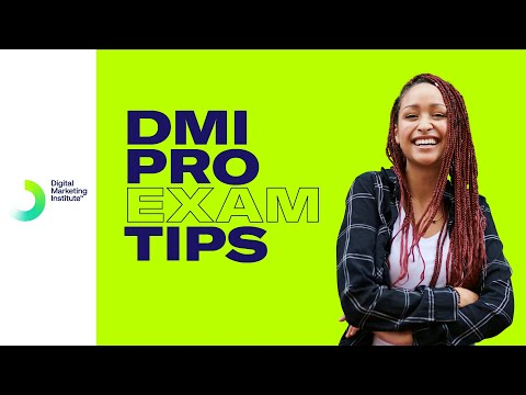 DMI PRO Exam Tips | Digital Marketing Institute - YouTube