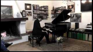 preview picture of video 'Brahms Capriccio op 76 n° 8 Emanuele Salinas'