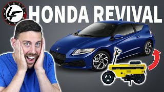 Honda Is REVIVING The CR-Z (and More) From The DEAD!