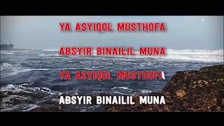 Ya Asyiqol Mustofa Karaoke. Like & Subscribe