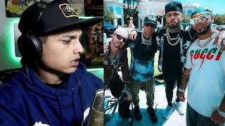 [Reaccion] Ven Y Hazlo Tú 💰 - Nicky Jam x J Balvin x Anuel AA x Arcángel   Video Oficial