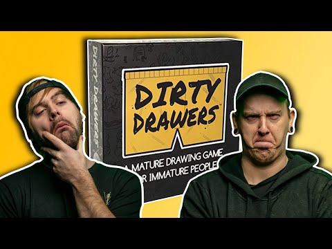 Drawing Gone Dirty!! (DIRTY DRAWERS GAME)