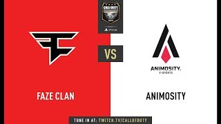 Faze Clan vs Animosity | CWL Champs 2019 | Day 1