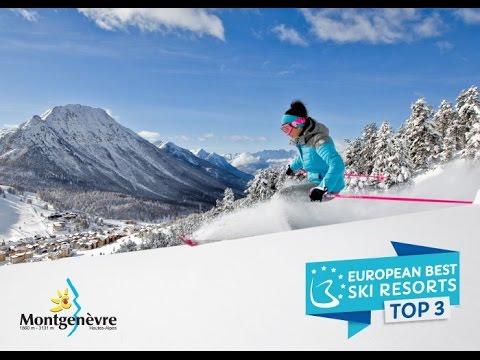 Montgenèvre 3ème au European Ski resort 2017